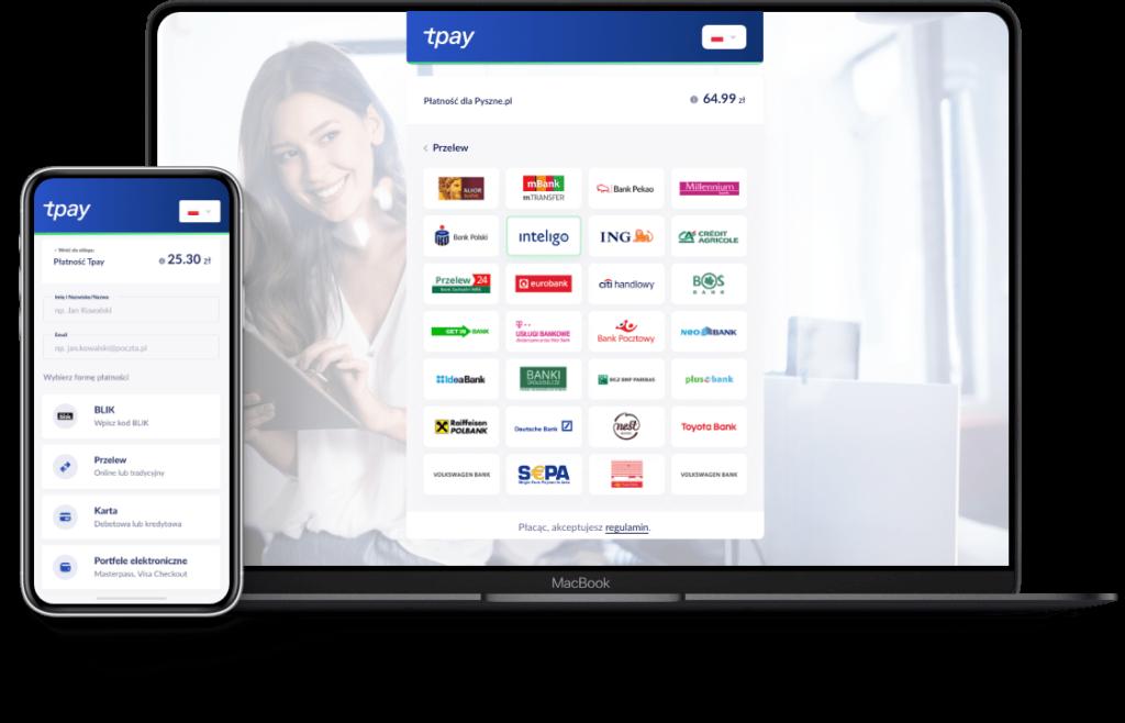 sklep internetowy płatności online